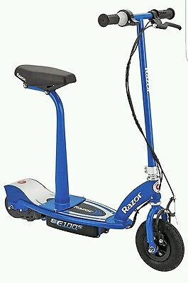 Razor E100S Electric Scooter With Seat - Blue1