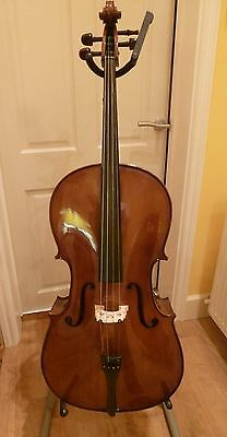 Stentor student 1 3/4 size cello and case