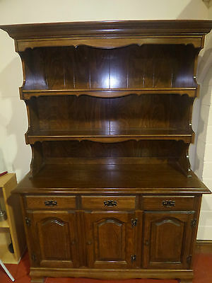 Antique Large Oak Dresser