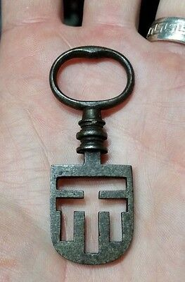 Old Antique Odells Tenement Night LATCH KEYS Latchkey Vintage Lifter Key Big