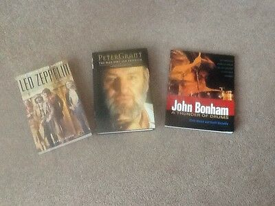 Led Zeppelin books - All Proceeds To H4H