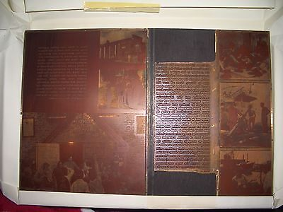 Rare Vintage Copper Printing Plate London City Mission,scene's Tower
