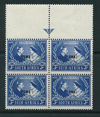 South West Africa 1948 SG 137 MNH (block of 4)