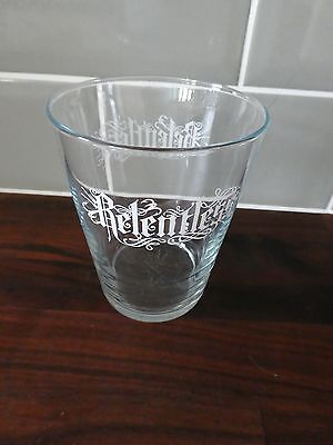 Two Superb Large Relentless Energy Drink Drinking Glass Tumbler