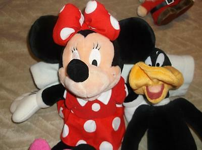 Minnie Mouse &  Donald Duck Soft Toys deal for Xmas Gift
