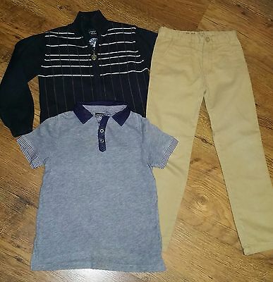 3 x Boys Items OUTFIT  NEXT M&S Jeans Top Jumper Age 5 - 6 Years *L@@K* Vgc