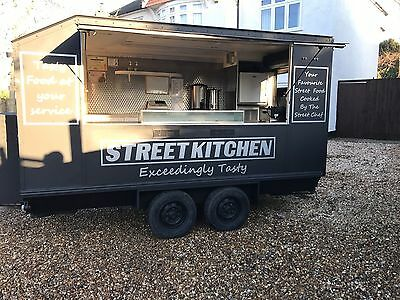 12ft Catering Trailer Newly Refurbished