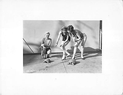 CAROLE LOMBARD & FRANCES LEE vintage sexy leggy Paramount pre-code 1930 photo