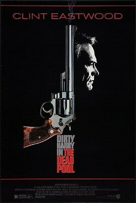 THE DEAD POOL - Clint Eastwood as Dirty Harry -  original film / movie poster