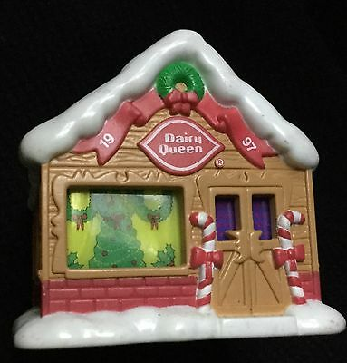 Vintage Dairy Queen Xmas Ornament Home Sweet Store ~ Hard To Find!