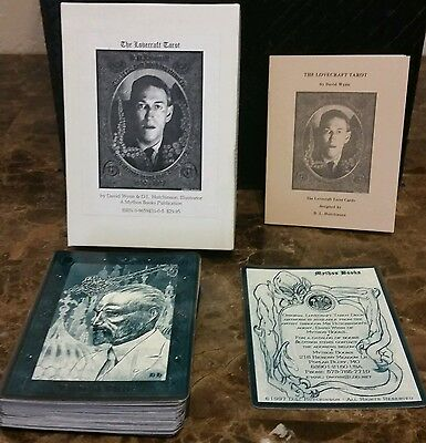 The Lovecraft Tarot  100% Complete First Edition Set  Extremely Rare