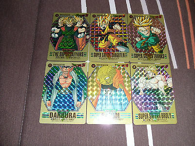 Dragon Ball Cartes Characters Collection Card Prism Set Part 1