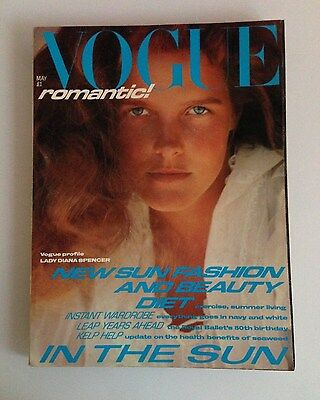 Vogue May 1981 Issue - Profile Lady Diana Spencer