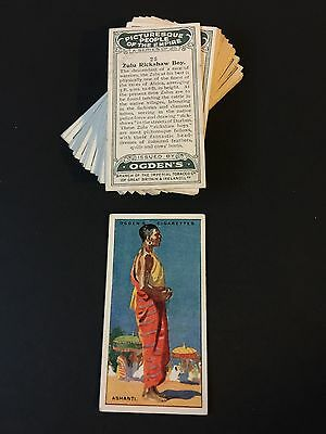 Cigarette Cards & Collectables **Ogden - Picturesque People, Set 25**