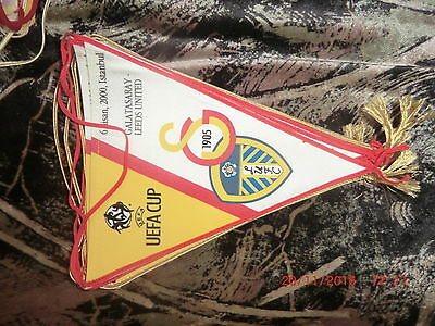 pennant  UEFA Cup 2000, Galatasaray vs Leeds United