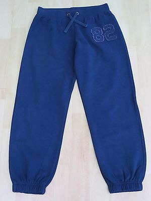 BNWOT Girls Sports/PE Joggers/Trousers Age 10 (Next) Navy Blue