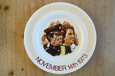 1973 Princess Anne & Mark Phillips Wedding Plate