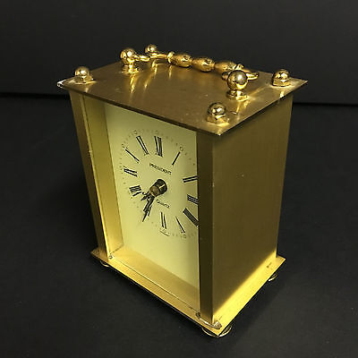 President Carriage Clock -  Brass/Metal  - Kienzle Quartz - Germany