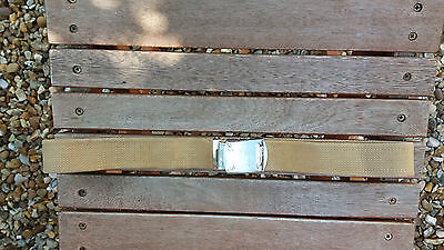 Sadf - South African Army Step Out Belt 1970's