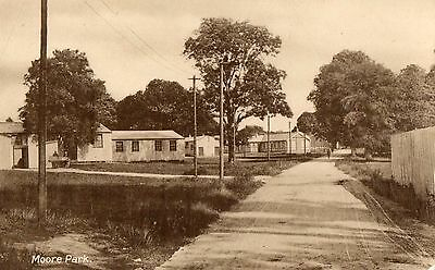 MOORE PARK CORK IRELAND RP IRISH POSTCARD by W. O'CONNELL STATIONER of FERMOY