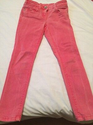 Next Girls Pink Jeans Age 7