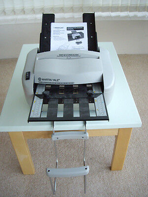 Martin Yale RapidFold P720022 paper/letter folding machine with power cable