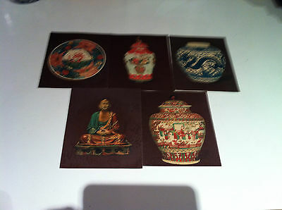 R J Hills Chinese Pottery And Porcelain No's 1-4 From Set Of 5 Ex Condition