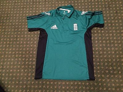 England Cricket Polo Shirt, size 44/46