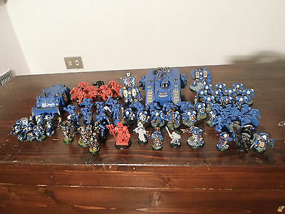 WH40K Space Marine Librarian Conclave, Veterans and Terminators Task Force