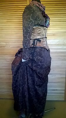 Victorian style bustle costume dress theatre theatrical stage dickens panto