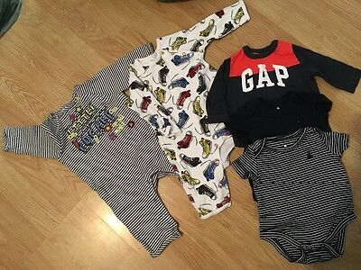 3-6 months baby boy baby k and gap clothes bundle