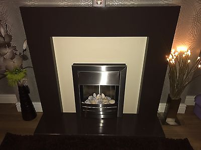 Adam Fireplace With Electric Fire