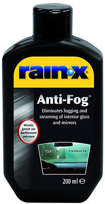 Rain X RainX Rain-X Anti Fog Glass Mirror Window Windscreen Mist Steam Treatment