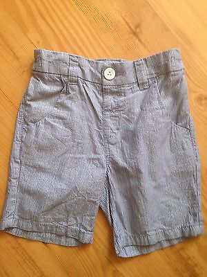 Next Boys Stripped Shorts Age 3-4 Years