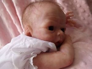 solid silicone reborn baby doll newborn sold out ltd ed