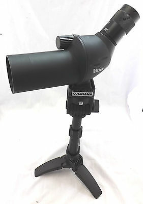 VIKING 10-35 x 50mm Spotting Scope With Tripod And Case - excellent condition