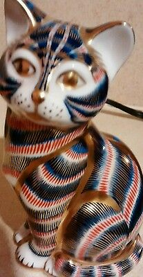 Royal Crown Derby *CAT* Paperweight