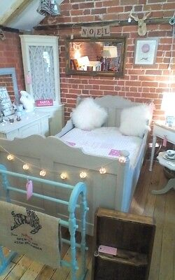 Stunning Antique Sleigh Bed