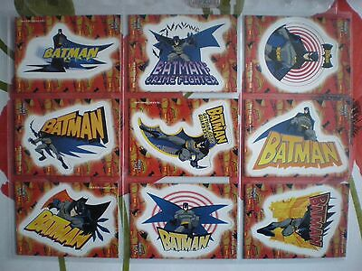 "2005 Batman Animated: Season 1 MAGNET ""Complete Set"" of 9 Chase Cards (1-9)"
