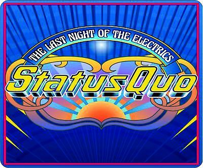 Status Quo Last Night Of The Electrics Colour Mouse Mat