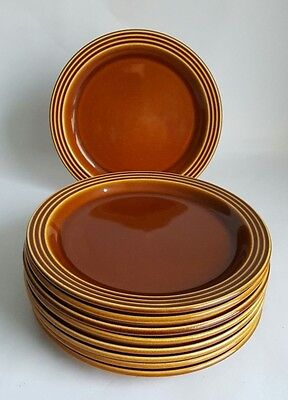 Vintage Hornsea Heirloom Side Plates X 9,  Designed By John Clappison.