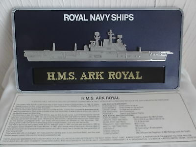 HMS ARK ROYAL Commemorative Wall Plaque Royal Navy - Brand New