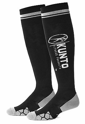 Graduated Compression Socks By Kunto Fitness Reduce Leg Pain LARGE NEW FREE SHIP
