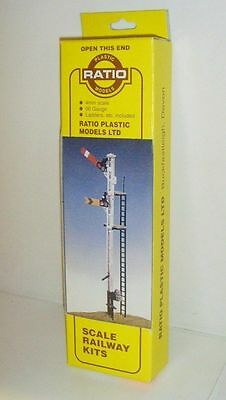 Ratio 492 Sr Home And Distant Signal Kit Oo Scale Unopened  Box