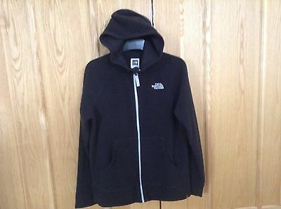 The North Face Black Hooded Fleece Jacket