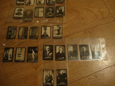 Vintage Cigarette Real Photo Cards Ship, Snooker Player ,train,people