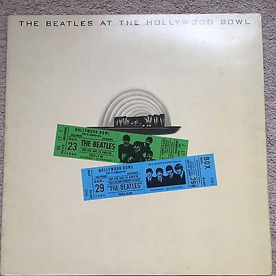 BEATLES - Live At The Hollywood Bowl - 1977 Copy Very Good Condition