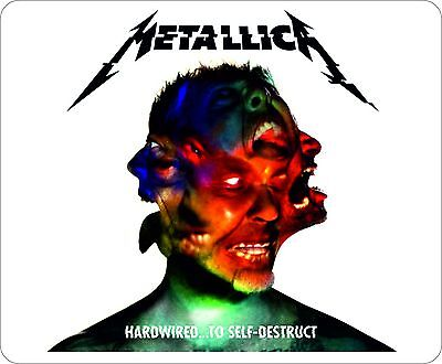 Metallica Hard Wired Album Cover Mouse Mat