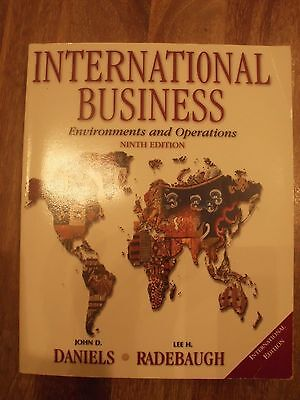 International Business: Environments and Operations by Lee H. Radebaugh, John...