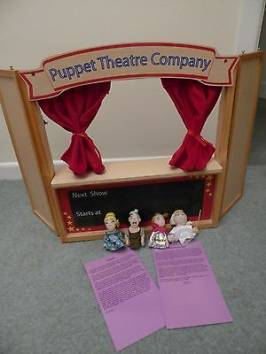 ELC Puppet Theatre Company with cinderella finger puppets